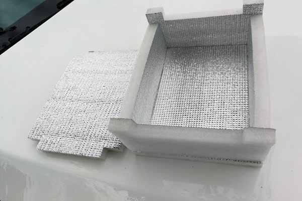 珍珠棉铝箔保温箱